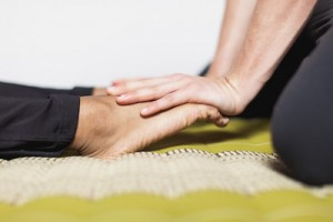 foot massage technique