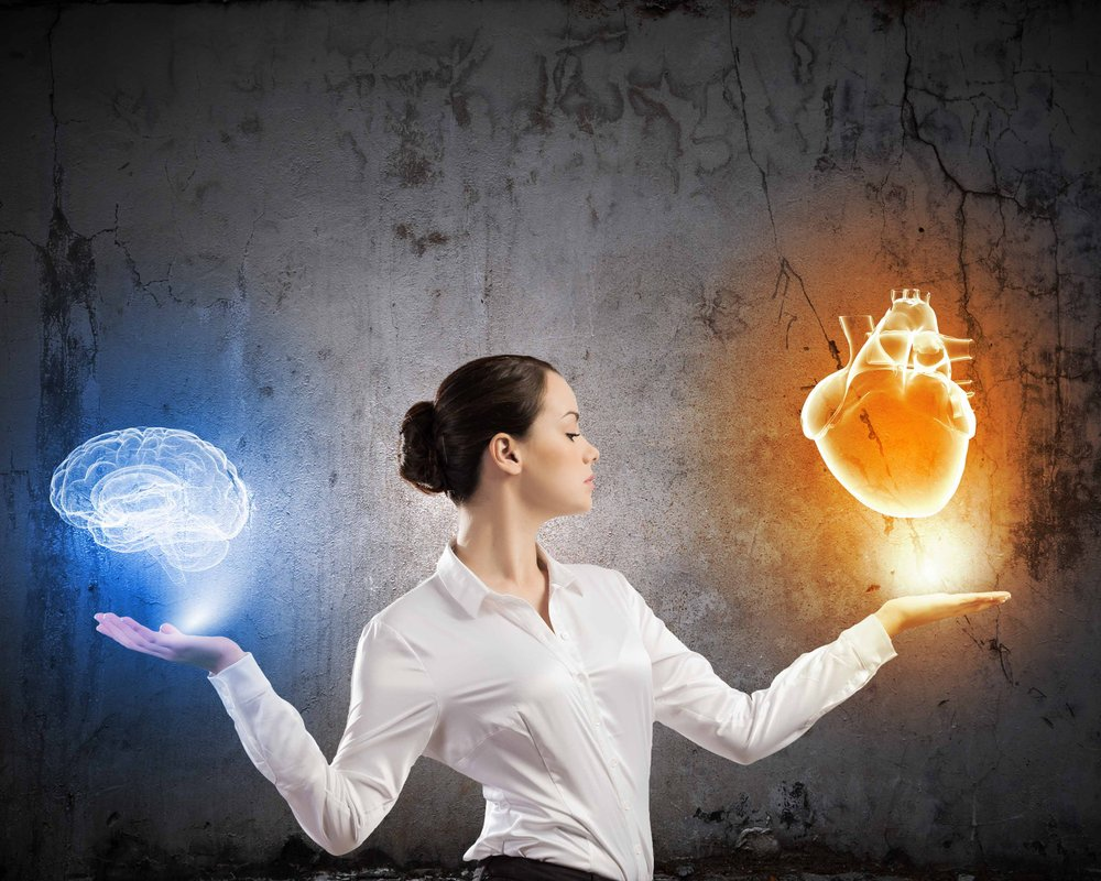 heart or brain? Or is there a clear distinction between the two at all when it comes to intuition?