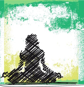 yoga pose, inner peace