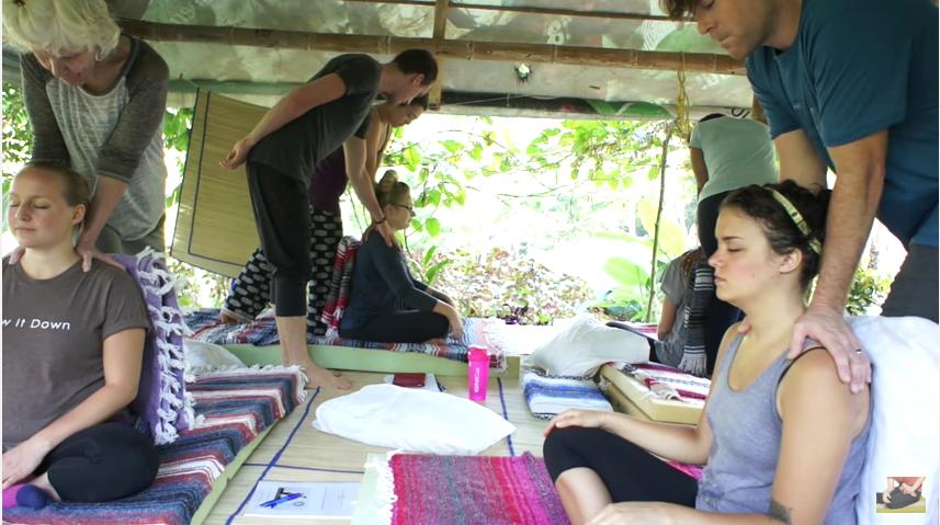 Thai Massage training retreat in Costa Rica