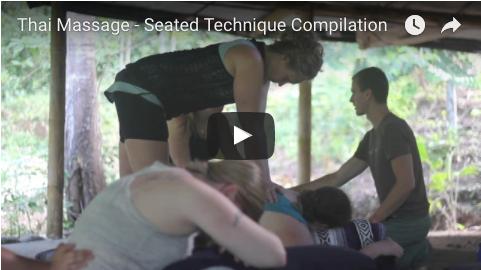 thai massage seated compilation