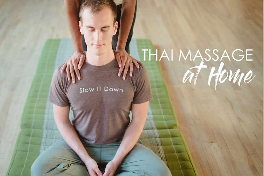 Thai massage at home online video course display picture